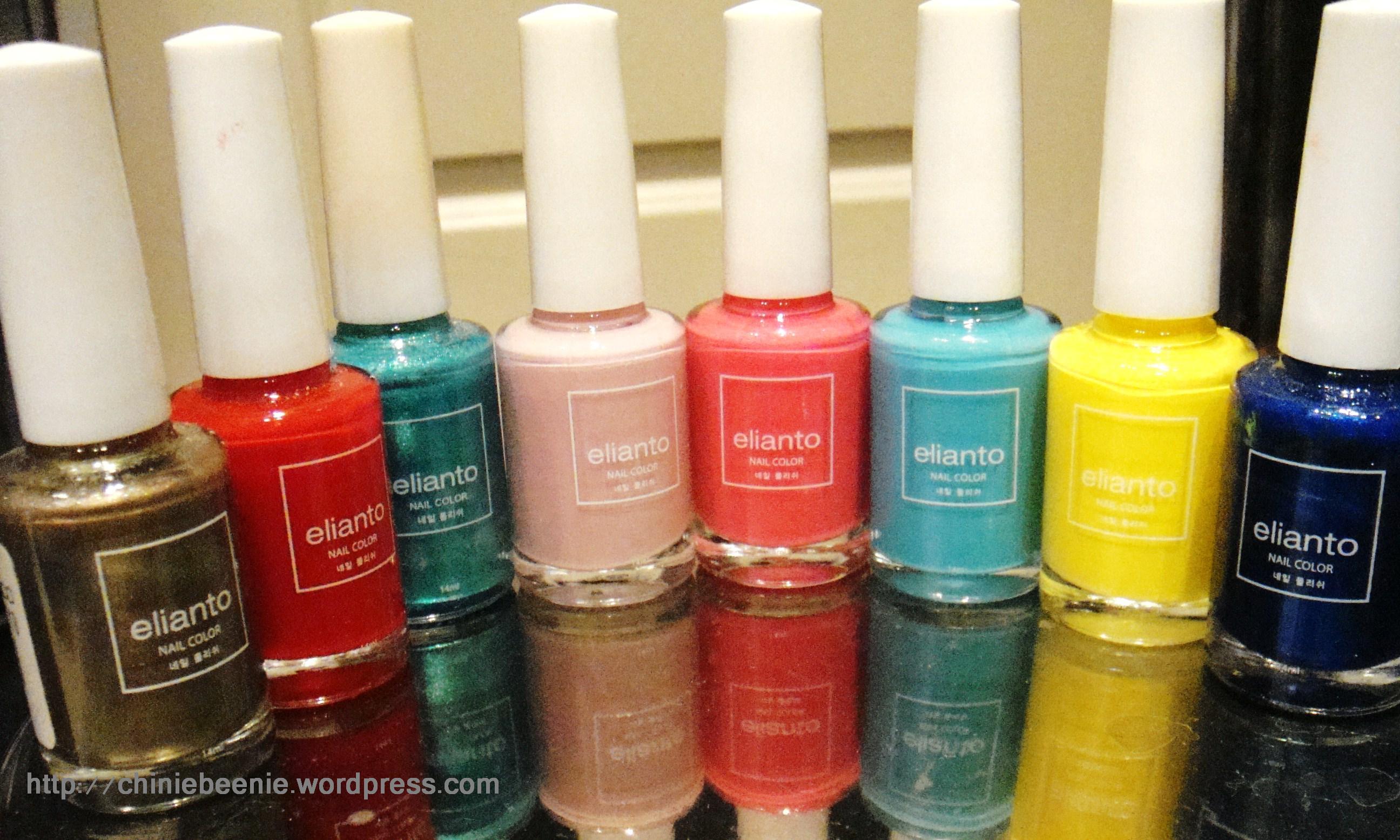 Tried & Tested: Elianto Nail Color